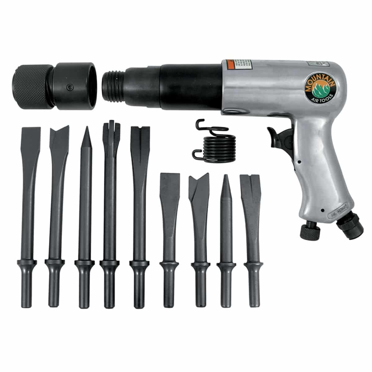 How to use an air hammer